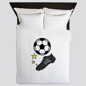 Ball  & Shoes Queen Duvet