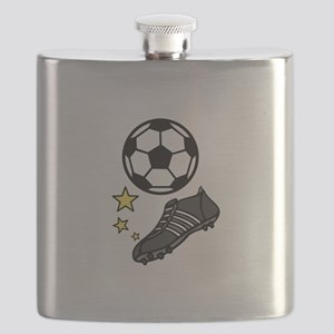 Ball & Shoes Flask