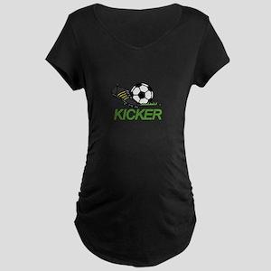 Soccer Kicker Maternity T-Shirt