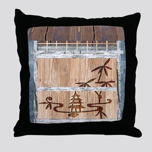 Touch of the Orient Throw Pillow