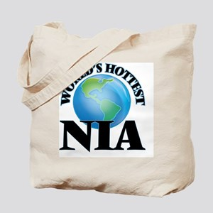 World's Hottest Nia Tote Bag