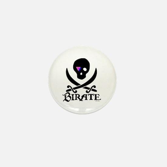 Birate (bi colored patch) Mini Button