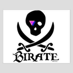 Birate (bi colored patch) Small Poster