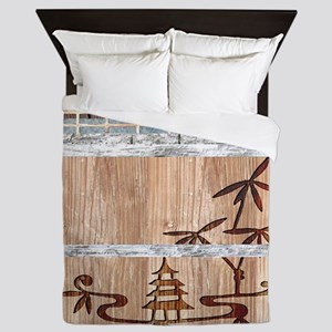 Touch of the Orient Queen Duvet