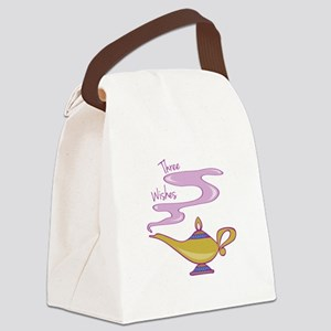 Three Wishes Canvas Lunch Bag