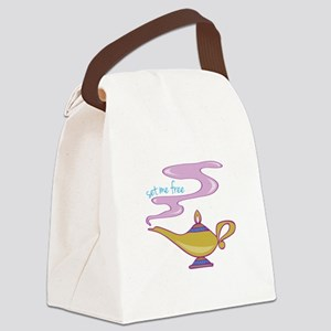 Set Me Free Canvas Lunch Bag