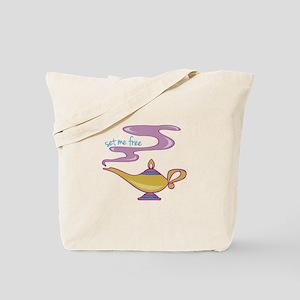 Set Me Free Tote Bag