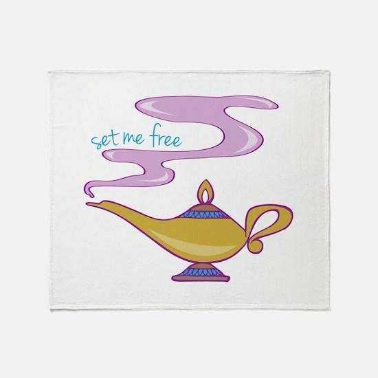 Set Me Free Throw Blanket