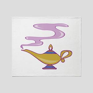 Magic Lamp Throw Blanket