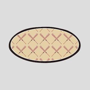 Baseball Bat Pattern Patches