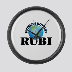 World's Hottest Rubi Large Wall Clock