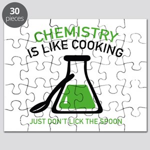 Chemistry Is Like Cooking Puzzle