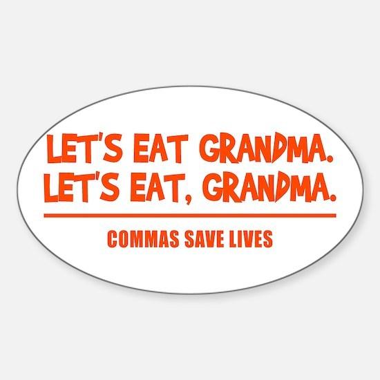LET'S EAT GRANDMA. Decal