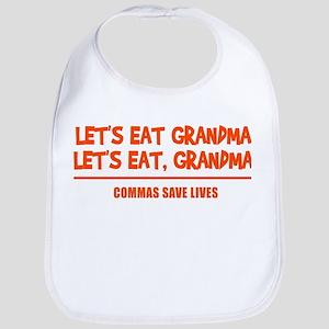 LET'S EAT GRANDMA. Bib