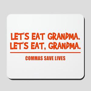 LET'S EAT GRANDMA. Mousepad