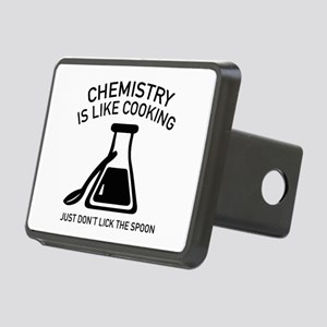 Chemistry Is Like Cooking Rectangular Hitch Cover