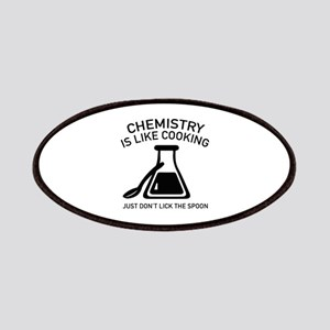 Chemistry Is Like Cooking Patches