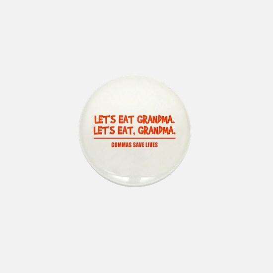 LET'S EAT GRANDMA. Mini Button