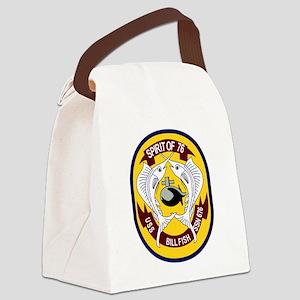 USS Billfish (SSN 676) Canvas Lunch Bag