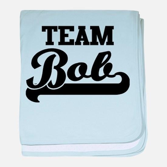 Team Bob baby blanket