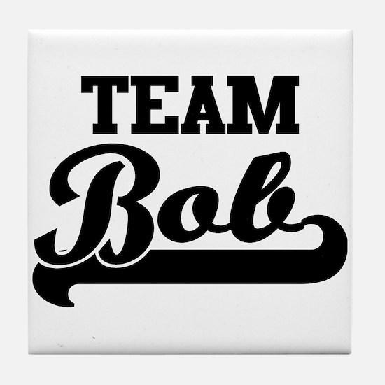 Team Bob Tile Coaster