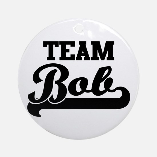 Team Bob Ornament (Round)