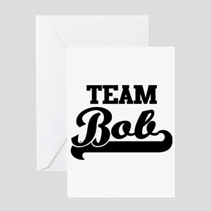 Team Bob Greeting Cards