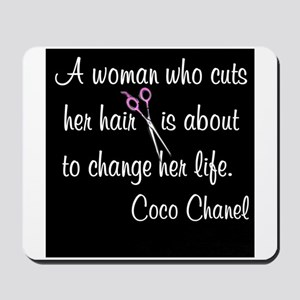 HAIR STYLIST QUOTE Mousepad