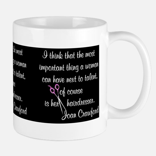 CRAWFORD HAIR QUOTE Mug