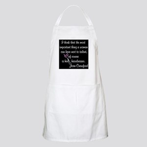 CRAWFORD HAIR QUOTE Apron