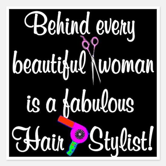 INSPIRING HAIR STYLIST Invitations