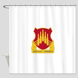 71 Air Defense Artillery Regiment.p Shower Curtain