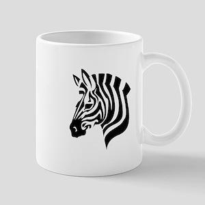 Zebra Head Mugs