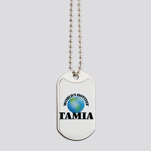 World's Hottest Tamia Dog Tags