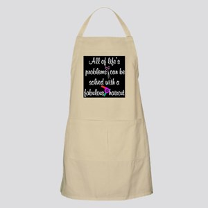 HAIR CUT QUOTE Apron