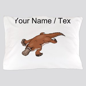 Custom Brown Platypus Pillow Case