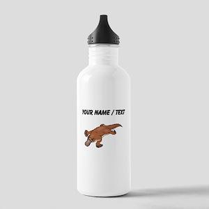 Custom Brown Platypus Water Bottle