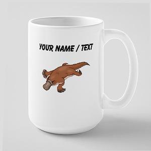 Custom Brown Platypus Mugs