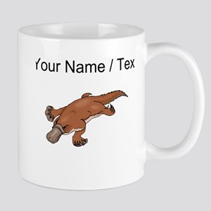 Custom Brown Platypus Mugs