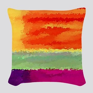 Elements Woven Throw Pillow