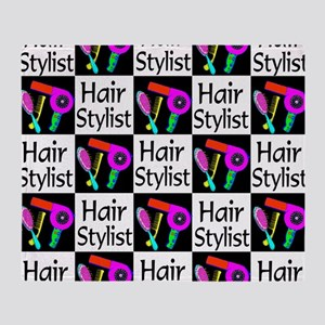 FABULOUS HAIR CUT Throw Blanket