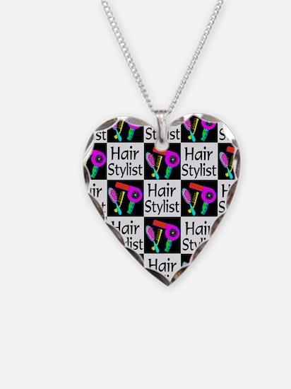 FABULOUS HAIR CUT Necklace