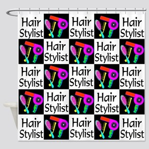 FABULOUS HAIR CUT Shower Curtain