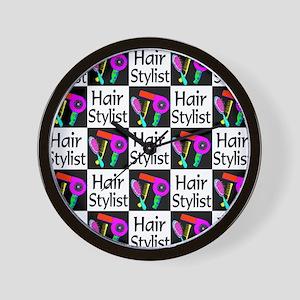 FABULOUS HAIR CUT Wall Clock