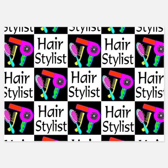 FABULOUS HAIR CUT 5x7 Flat Cards