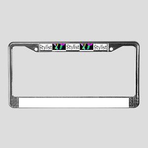 FABULOUS HAIR CUT License Plate Frame