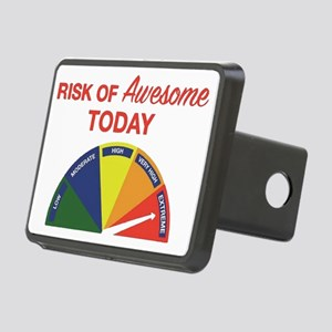 Risk of awesome today Rectangular Hitch Cover