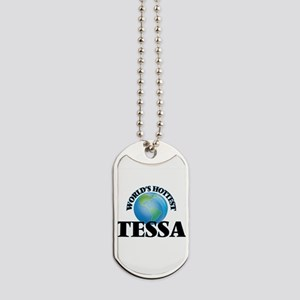 World's Hottest Tessa Dog Tags