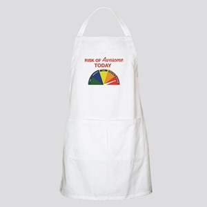 Risk of awesome today Apron