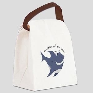 Predator Of The Seas Canvas Lunch Bag